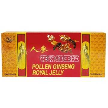 DR.CHEN POLLEN GINSENG ROYAL JELLY AMPULLA 10X10 ML - Dr.Herb